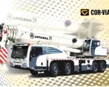 Grúa Sobre Camión AA70 Corvial