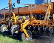 Sembradora Agrometal MXY II ,año 2009,31 a 21 con Kit de Pla