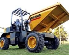 Dumper Michigan D15gm. Motor Hanomag 42 Hp. Peso 3.180 Kg