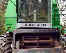 Cosechadora Agco Allis 550 2014