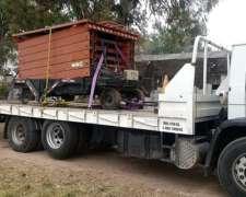 Transporte de Maquinaria e Insumos para el Agro.