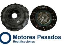 Kit De Embrague Para Mercedes Benz 712 - Accelo - Atego
