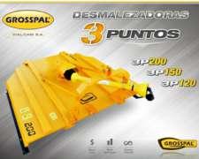 Desmalezadoras 3 Puntos 3p200 3p150 3p120 Grosspal