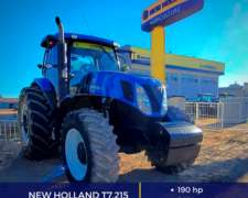 Tractor T7 215 190hp