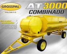 Acoplado Tanque Combinado AT 3000 - Grosspal