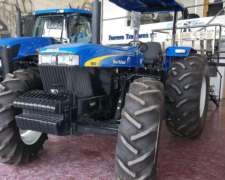 Tractor New Holland 8030 (122cv) Platafor. -