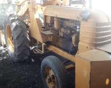Tractor Fiat R60 con Pala Invertida