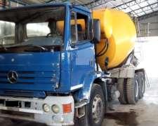 Camion Mixer Hormigonero M Benz 1718 6x4 8m3