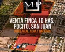 Finca Agrícola, 2 Casas, 2 Galpones, Derecho a Riego