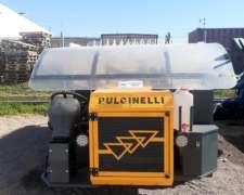 Cosechadora de UVA Marca Pulcinelli - Usada
