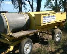 Tanque De Gas Oil Y 750 De Agua ,con Bomba