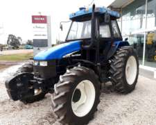 New Holland TS 120 DT - con Piloto - Impecable