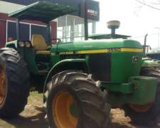 Tractor John Deere 3550 Doble Traccion