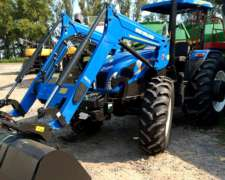 New Holland TL95 (104cv) con Pala.
