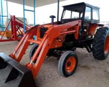 Tractor Zanello V210 C/pala Motor Perkins