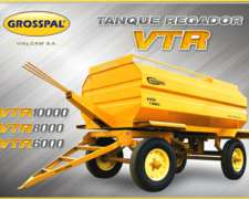 Tanque Regador VTR 10000/8000/6000 Grosspal