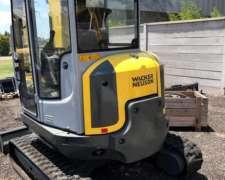 Wacker Neuson 38z3 Miniexcavadora Sobre Orugas