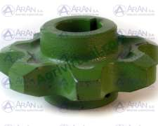 Engranaje Noria Z7 para Cadena S55 o CA550 Deutz Optima 440