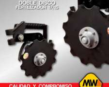 Doble Disco Fertilizador (17/15)