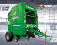Rotoenfardadora M 8520 Montercor