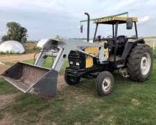 Tractor Valmet 885 con Pala.impecable año 1998