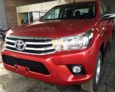 Toyota Hilux D/cabina Srv 2.8 Tdi 4x2 0km Disponible