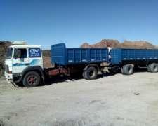 Camión con Acoplado o Chasi Solo