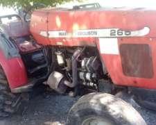 Tractor Massey Ferguson 265 3puntos Levantamiento Hidraulico