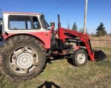 Tractor Massey con Pala