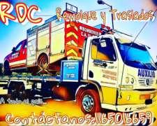 Rdc Remolque y Traslados Vehicular y de Maquinaria