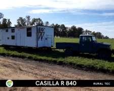 Casilla Rural 8,4 Metros Equipamiento Base para 4 Personas