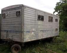 Casilla Rural 5,50mts,baño con Inodoro,cocina y Heladera.