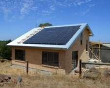 Grupo Electrógeno Solar 2kw P/sitios Sin Energía