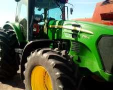 Tractor John Deere 7185j año 2010