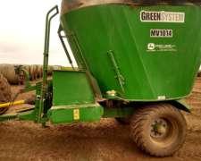 Mixer Vertical Green SYS de 14 MTS3 con Balanza y Cub. (285)