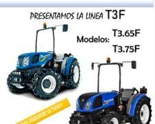 Adquiri TU Nuevo New Holland T3.65f o T3.75f