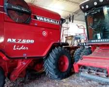Vassalli AX7500 Lider año 2011. DT. RD. 5.000 Hs / 4.000 Hs