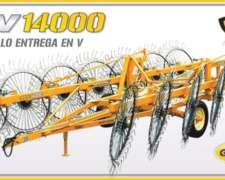 "Rastrillo Hilerador en ""V"" Grosspal REV 14000"