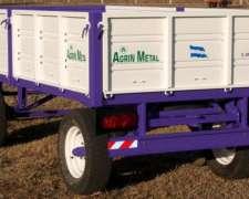 Acoplados Rurales Barandas Revatibles Agrinmetal