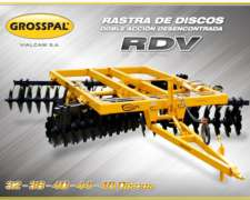 Rastra de Discos Grosspal RDV