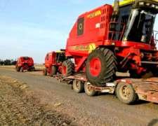 Transporte de Maquinaria Agrícola (carretón)