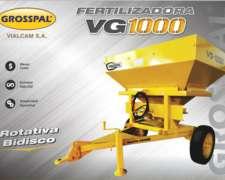 Fertilizadora Grosspal VG 1000