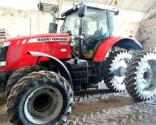 Tractor Massey Ferguson 7620 año 2014