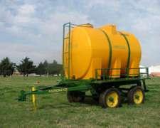 Acoplado Tanque Plástico De 3500 Lts. Agromaq