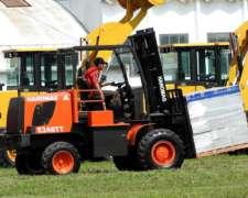 Autoelevador Hanomag E248 TT