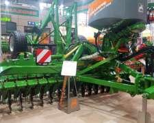 Amazone Catros 6002-2ts con Sembrador Granos Finos y Forraje