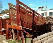 Cargador Hacienda Embarcadero Brete 3,50m Quebracho Agraso