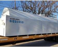 Tanque Estacionario Con Batea Antiderrame Para 50.000 Lts
