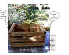 Cajones de Madera para Embalar Verduras y Frutas