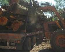 Tractor Zanello con Topadora. 150 HP.